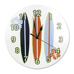 Trend Lab® Surf's Up Wall Clock