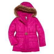 Rothschild Belted Puffer Jacket - Girls 7-16