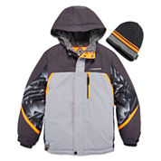 Zeroxposur® Snowboard Jacket with Beanie - Boys 8-20