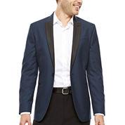 JF J. Ferrar® Teal Shimmer Slim Lightweight Sport Coat