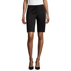 nicole by Nicole Miller® Stretchable Bermuda Shorts