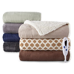 Biddeford™ Luxury Fashion Heated Throw