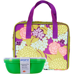 BlueAvocado® Insulated Lunch Carrier + Fold-Out Mat