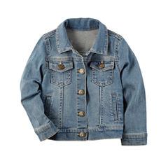 Carter's Girls Denim Jacket-Preschool