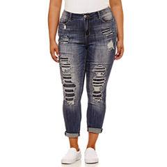 Vanilla Star Skinny Fit Jeans-Juniors Plus