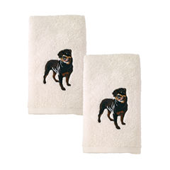 Avanti 2pk Dog Rottweiler 2-pc. Embroidered Hand Towel
