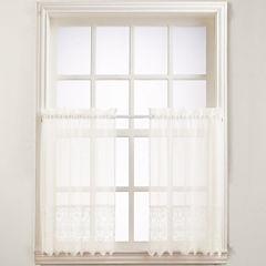 Joy Rod-Pocket Window Tiers