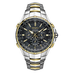 Seiko Mens Two Tone Bracelet Watch-Ssg010