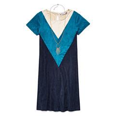 Speechless® Suede Shift Dress - Girls' 7-16