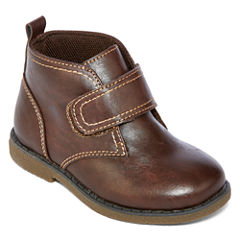 Okie Dokie® Jasper Boys Chukka Boots - Toddler