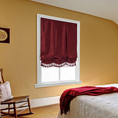 Royal Velvet® Plaza Cordless Balloon Roman Shade