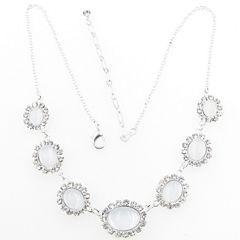 Womens Brass Collar Necklace