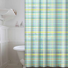 Peva Plaid 13-pc. Shower Curtain Set