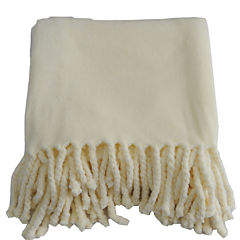 Orient Home Collection Fringe Throw