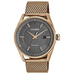 Drive from Citizen Rose Goldtone Bracelet Watch-Bm6983-51h
