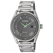 Citizen Mens Silver Tone Bracelet Watch-Bm6980-59h