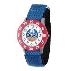 Emoji Marvel Boys Blue Strap Watch-Wma000089
