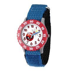 Emoji Marvel Boys Blue Strap Watch-Wma000095