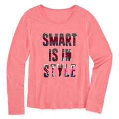 Total Girl Graphic T-Shirt-Girls' 7-16 & Plus