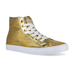 Gotta Flurt Disco II High-Top Sequin Sneakers
