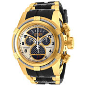 Invicta Mens Black Bracelet Watch-16317