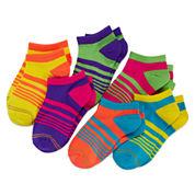 Gold Toe® 6-pk. Neon Liner Socks - Girls