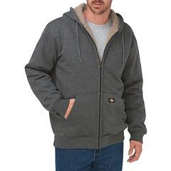 Dickies® Men's Sherpa-Lined Fleece Hoodie
