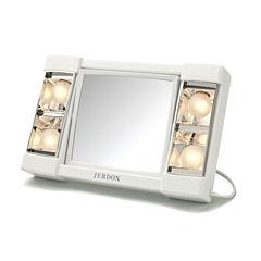 Jerdon 3X Magnification Makeup Mirror