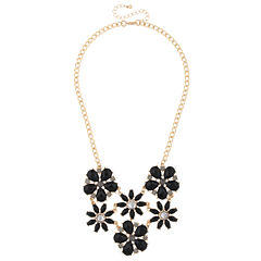 Mixit Red Statement Necklace