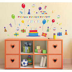 Celebrate Birthday Cupcake Home Room Decor