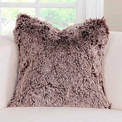 Pologear Pologear Bear Shag Throw Pillow