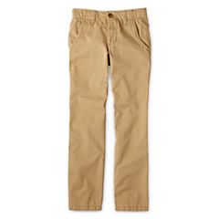 Arizona Flat-Front Chino Pants  Boys- 8-20, Slim and Husky