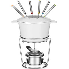 Cuisinart® 13-pc. Cast Iron Fondue Set