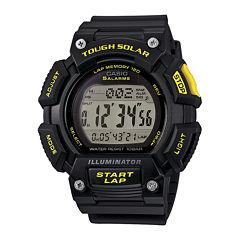 Casio® Tough Solar Illuminator Mens Runner Sport Watch STLS110H-1C