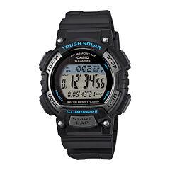 Casio® Tough Solar Illuminator Womens Runner Sport Watch STLS300H-1A