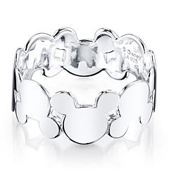 Disney Mickey Mouse Sterling Silver Ring