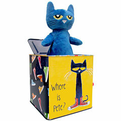 Kids Preferred Pete The Cat Jack In The Box Interactive Toy