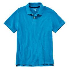 Arizona Short-Sleeve Solid Knit Polo - Boys 8-20 and Husky