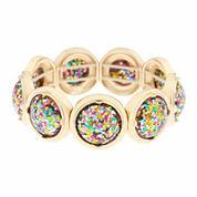 Liz Claiborne® Acrylic Stretch Bracelet.