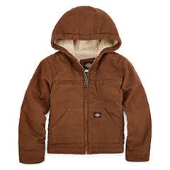 Dickies® Sherpa-Lined Duck Hooded Jacket - Preschool Boys 4-7