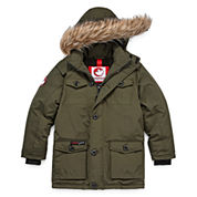 Canada Weather Gear Heavyweight Sherpa Parka - Boys 8-20