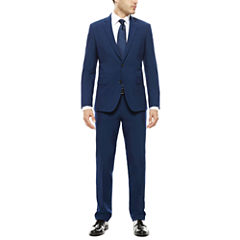 JF J. Ferrar® Blue Stretch Suit Seperates- Super Slim Fit