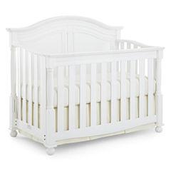 Bedford Baby Monterey Convertible Crib - White