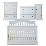 Savanna Tori 3-pc. Baby Furniture Set - Light Gray