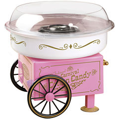 Nostalgia PCM305 Vintage Collection Hard & Sugar-Free Candy Cotton Candy Maker