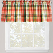 Park B. Smith® Plaid Stripe Rod-Pocket Valance