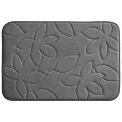 Bounce Comfort Blowing Leaves Memory Foam Bath Mat Collection