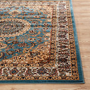 Alpine Medallion Rectangular Rug