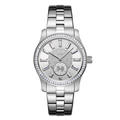 JBW Stainless Steel Celine Womens Silver Tone Bracelet Watch-J6349a