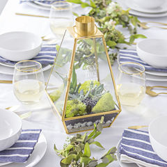 Cathy's Concepts Personalized Metal Terrarium